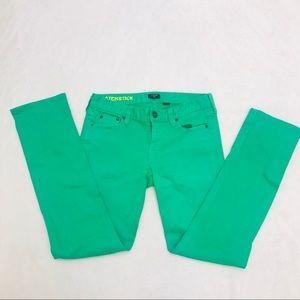 J.Crew Stretch Match Stick Jeans